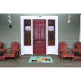 Sailing Puppy Dogs Accent Rug front porch
