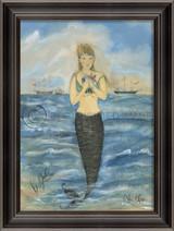 The Gift Mermaid Wall Art