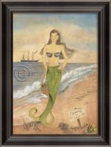 Sunrise on Surfside Mermaid Wall Art