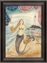 Finding Lasting Treasure - Large Mermaid Art