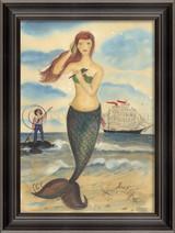The Call of the Sea Mermaid Wall Art