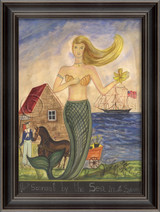 The Mermaid from Sconset by the Sea Art
