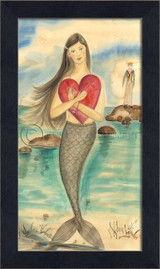 A Sailor's Valentine Mermaid Art