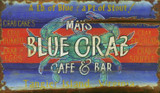 Blue Crab Cafe and Bar Sign