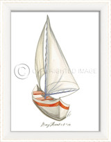 Day Boat No.5 Cottage Wall Art