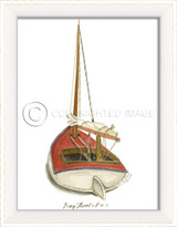 Day Boat No. 1 Cottage Wall Art