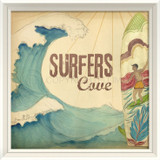 Surfer's Cove Wall Art