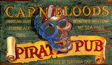 Pirate Pub Vintage Sign