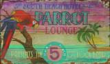 Parrot Lounge Vintage Sign