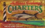 Lighthouse Charter Fishing Custom Sign