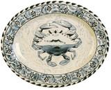 Blue Crab Oval Platter