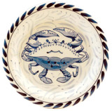 Blue Crab Dessert Plates - set of 4
