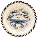 Blue Crab Dessert Plates - set of 4