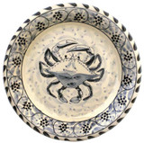Blue Crab Salad Plates - set of 4