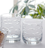 School of Fish Old Fashioned Tumblers - Set of 4 beauty image