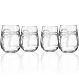 Palm Tree Stemless Tumblers-Set of 4