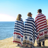 Eco-Knit Throws for the Coast