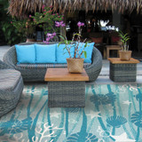 Outdoor Living with the Waterfront Rug Collection - FREE SHIPPING