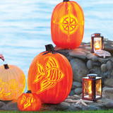 Happy Halloween + Carving Templates to Checkout!