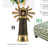 Fab Lighthouse Knocker - Featured in Cottages and Bungalows Summer Issue