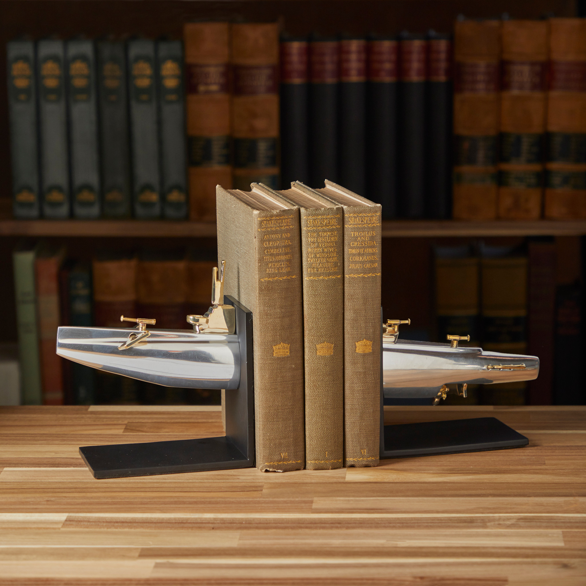 Super fun Submarine Bookends!