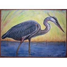 Great Blue Heron Placemats - Set of 4