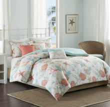 Pebble Beach 6-Piece Duvet Set - Queen Size