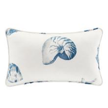 Beach House Blues Oblong Decorative  Pillows