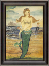 The Story of Esther Island Wall Art