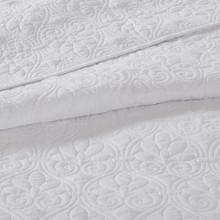 Hudson Bay White Coverlet Set - King Size