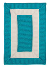 Rope Walk Turquoise Rug