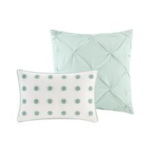 La Jolla Shores Comforter Set - King decorative pillows