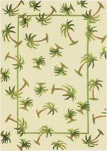 Hanalei Palm Indoor Outdoor Area Rug
