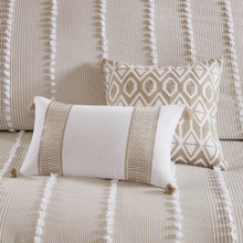 Saltwater and Dunes Duvet Set - shown with dec pillows