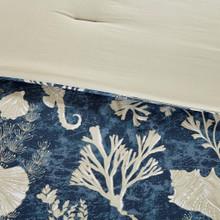 Neptune 7-Piece King Size Comforter Set close up