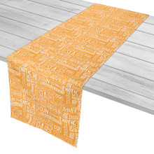 Beach Vacation Words Table Runner