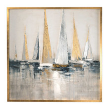 Regatta Canvas Art