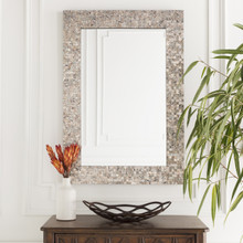 Large Mother of Pearl Shell Framed Mirror room image