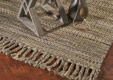 Slate Mission Homespun Area Rug