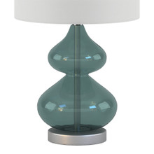 Waterfront Glass Table Lamps - Set of 2 close up