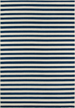 Navy Stripe Baja Area Rug