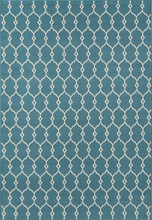 Blue Knots Baja Area Rug