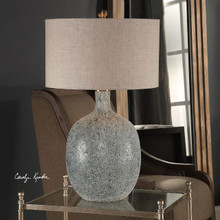 Oceaonna Glass Table Lamp