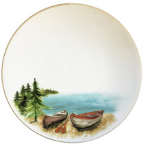 A Day at the Lake Dinner Plates-Set of 6