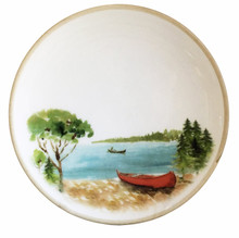 A Day at the Lake Salad and Dessert Plates-Set of 6