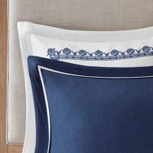 Indigo Skye Oversized King Size Comforter Set close up 3