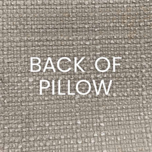 Shell Game Elegant Pillow back of pillow