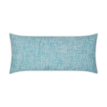 Double Trouble Turquoise Lumbar Pillow