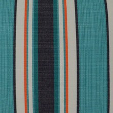 Montauk Stripes Pillow fabric close up