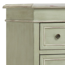 Chesapeake Cottage Tall Cabinet top close up